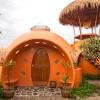 Необычный дизайн дачного дома: дом-купол