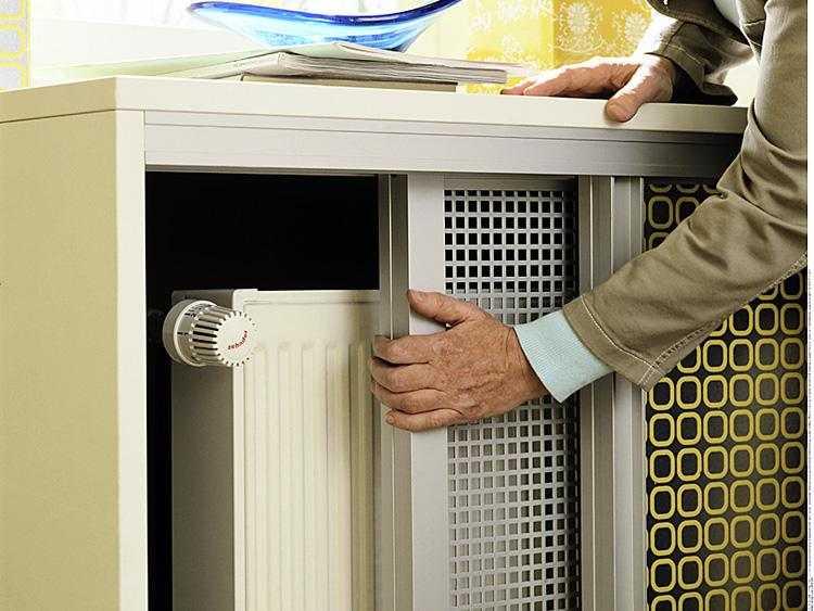 Закрыть радиатора отопления своими руками 289