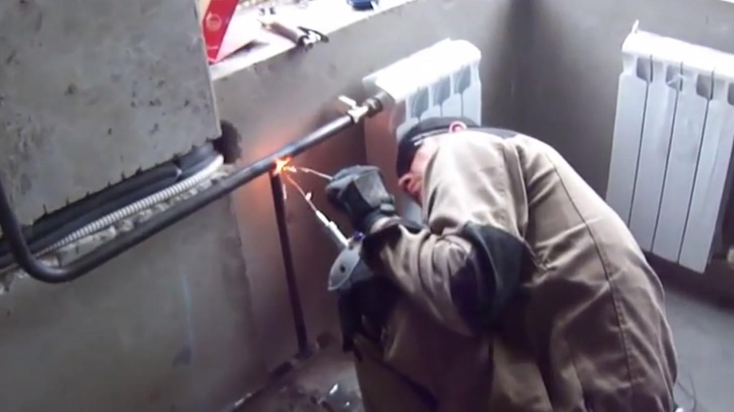 Как сварить газовый котел отопления