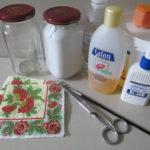 Для работы понадобятся: салфетки для декупажа, клей, кисти и ножницы