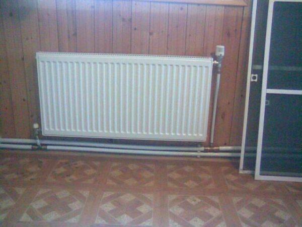 Диагональный способ подключения радиатора