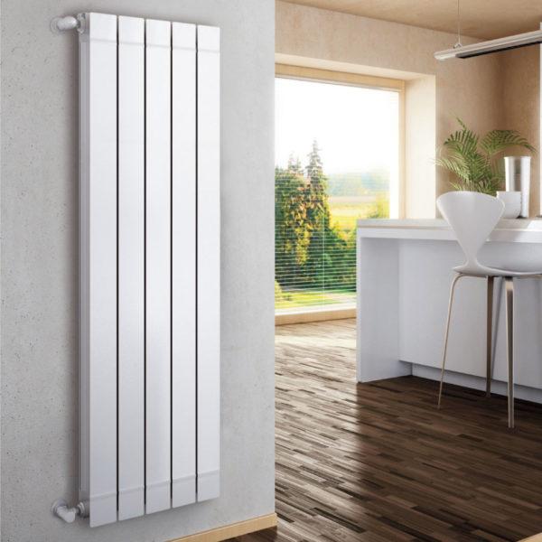 Алюминиевые вертикальные радиаторы