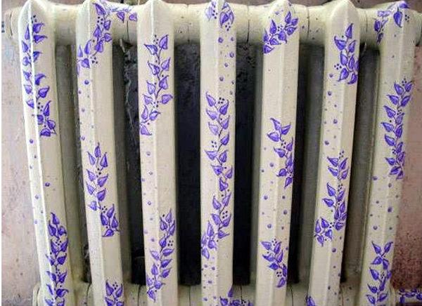 Радиаторы отопления - роспись