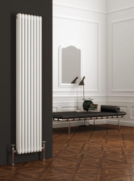 Вертикальные радиаторы с водяной системой отопления