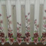 Декупаж радиатора цветочным рисунком