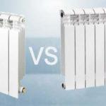 Какие радиаторы лучше биметаллические или алюминиевые