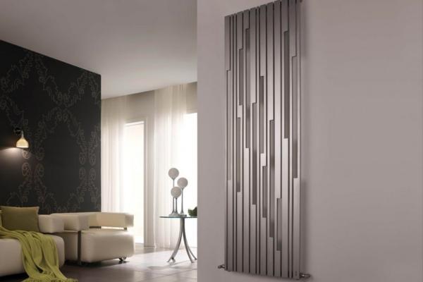 Вертикальные радиаторы - дизайнерский вариант