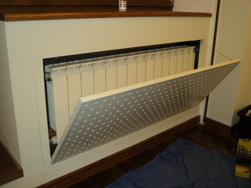 Съёмный экран радиаторов отопления