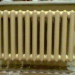Батарея отопления старого образца