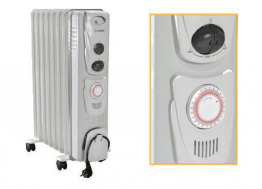 Таймер у радиатора отопления