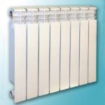 Алюминиевый радиатор отопления Анкор