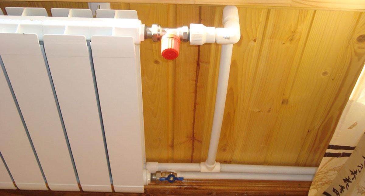 Установка радиаторов отопления в частном доме своими руками