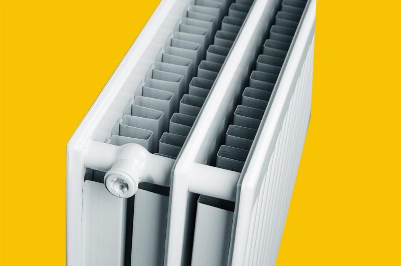 Стальной панельный радиатор типа 33