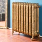 Чугунный радиатор в ретро стиле Guratec