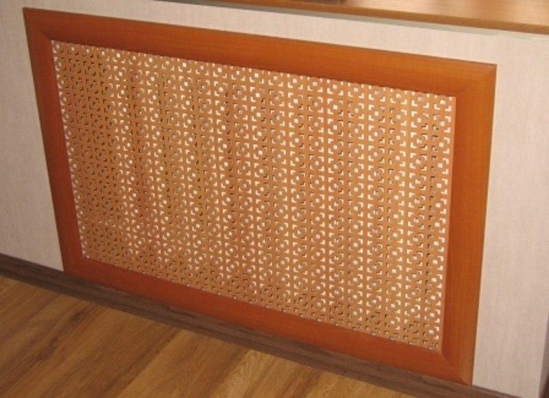 Декоративные радиаторные решетки из МДФ