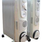 Модели масляных обогревателей с вентилятором