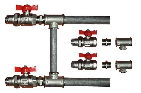 Трубы водоснабжения в частном доме