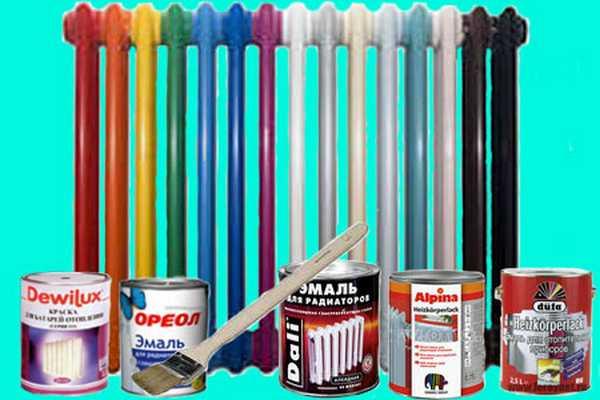 Выбираем краску для батарей