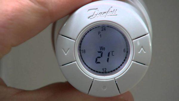 Автоматический (электронный) термостат для отопления