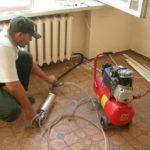 Очистка и промывка батарей отопления