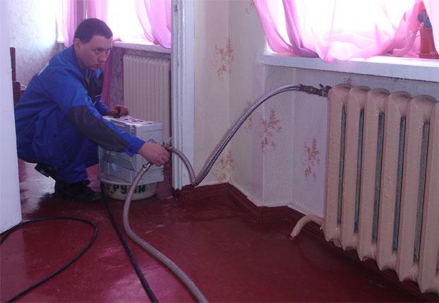 Чем промыть систему отопления домашних условиях