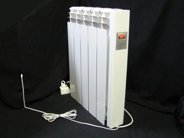 Радиатор отопления со встроенным электронным таймером