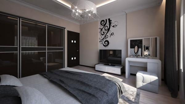 Дизайн спальни 20 кв м: способы зонирования + советы по оформлению