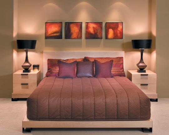 Декор спальни – оригинальные идеи для вашей комнаты отдыха