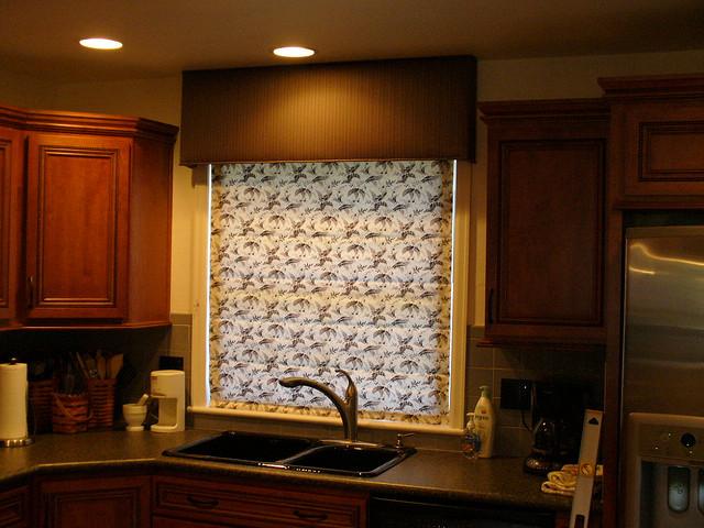 Рулонные шторы для кухни новинки 2017