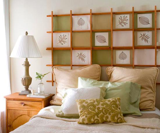 Декор спальни своими руками: несколько оригинальных идей