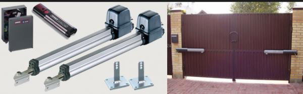 Механизм для автоматические ворота с дистанционным открытием