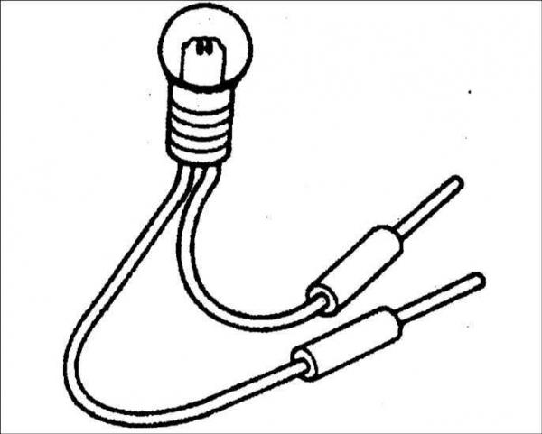 Как собрать контрольную лампу электрика  Как Вы уже поняли самодельная контрольная лампочка на 220 Вольт имеет достаточно простую конструкцию что позволяет собрать ее своими руками даже