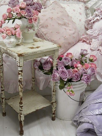 Цветы в стиле прованс