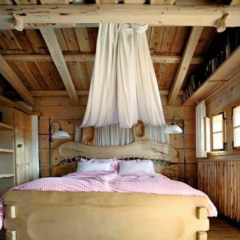 Дом-шале в альпийском стиле: романтический отдых в горах