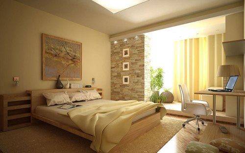 Дизайн спальни 5 на 5 или как сделать уютной большую комнату