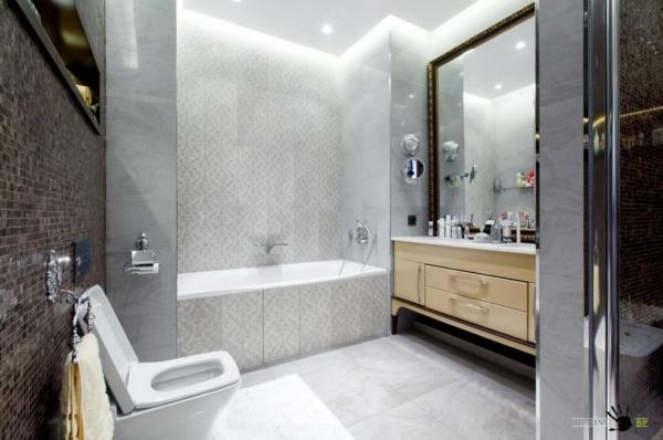 Современная ванная комната 2017 Рукомойник Sanindusa Sign 108930