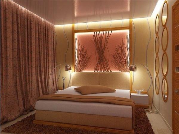 Варианты спальни уютной и гармоничной