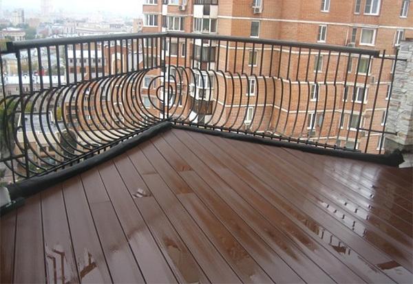 Варианты отделки пола балкона - какие материалы подходят для.