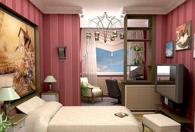Дизайн кабинета – спальня и рабочее место «в одном флаконе»