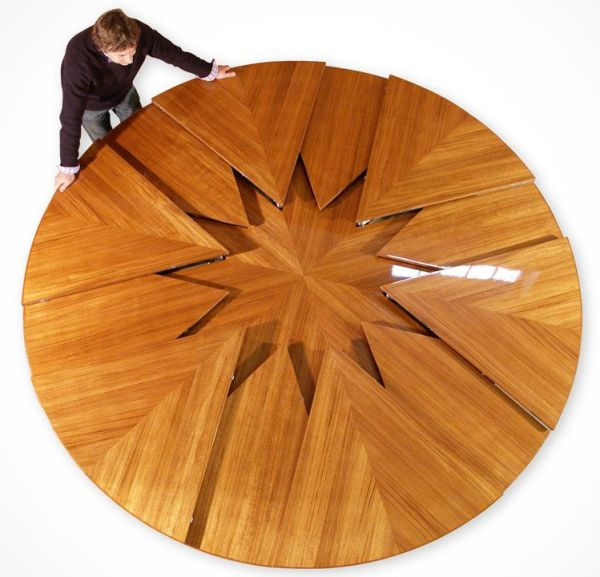 Уникальные дизайны компактной мебели, которая сэкономит до 20% пространства в маленьком помещении