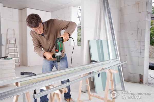 Как правильно сверлить дрелью — металл, бетон, плитку