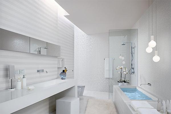 Дизайн белой ванной комнаты — особенности обустройства и декора