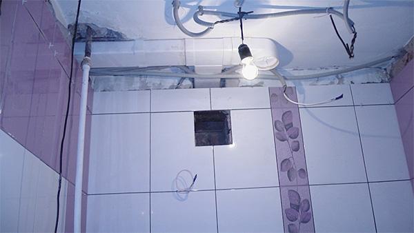 Вентиляция ванной комнаты дома своими руками