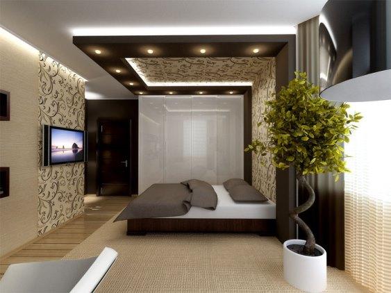 Дизайн спальни-гостиной 15 кв м