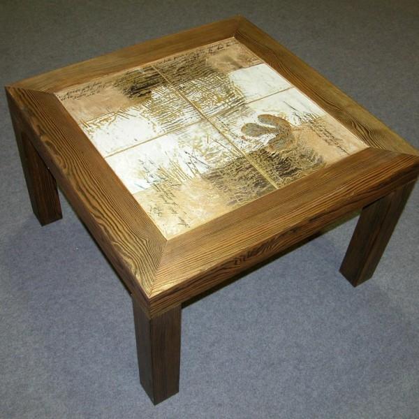 Стол с керамической плиткой своими руками