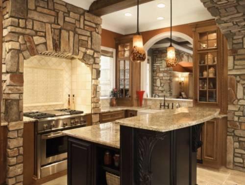 Современная отделка кухни: правильный выбор материала